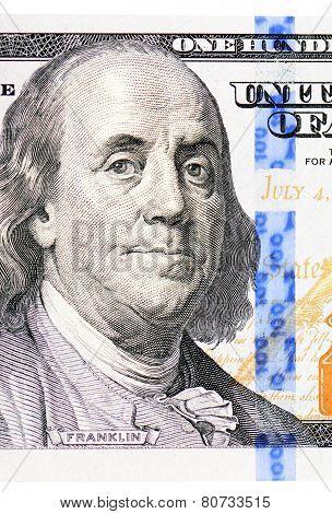 The Face Franklin The Dollar Bill