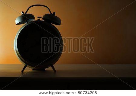 Bedside Alarm Clock In Backlit