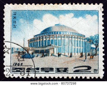 Postage Stamp North Korea 1965 Circus, Pyongyang