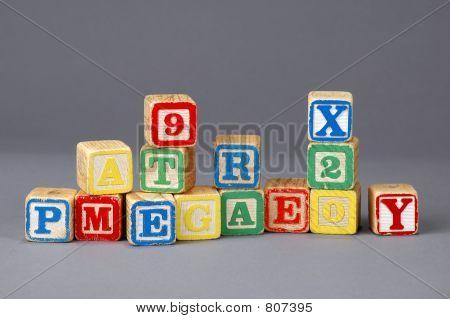 Kid's Letter Blocks