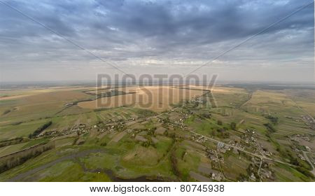 Village With A Bird's-eye View