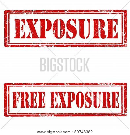 Exposure-stamps