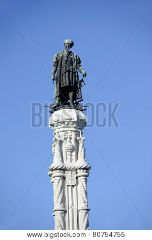 Statue of Afonso de Albuquerque
