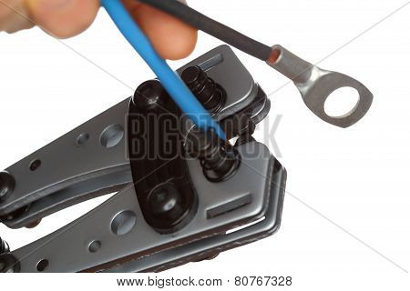 Crimping Tool Closeup
