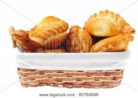 Pies In  Basket