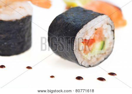 Fresh Sushi Rolls