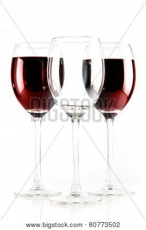 Three Wine Glases