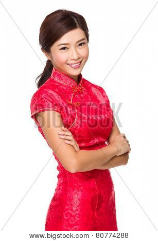 Chinese woman portrait