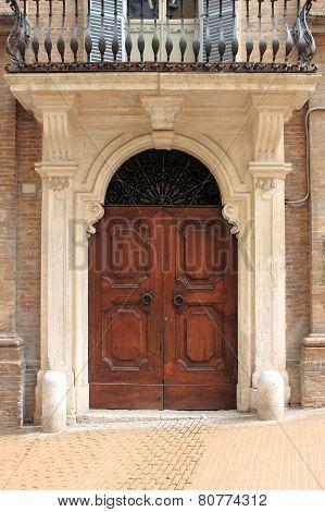 Renaissance front door
