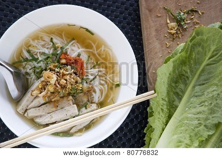 Preparing Pho For Lunch