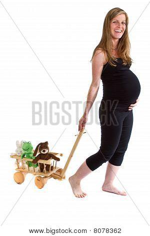 Fresh Pregnant  Woman