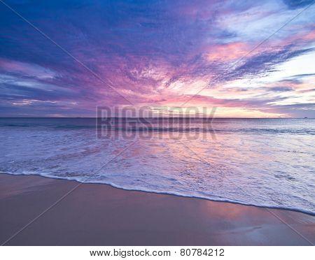 Sunset at Cottesloe, Western Australia