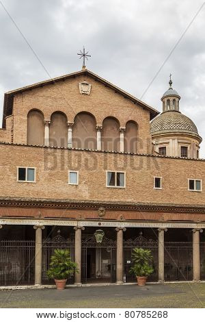 Santi Giovanni E Paolo, Rome