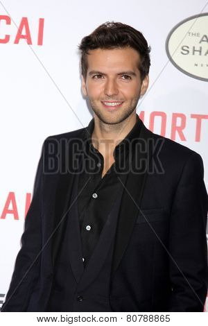 LOS ANGELES - JAN 21:  Guy Burnet at the
