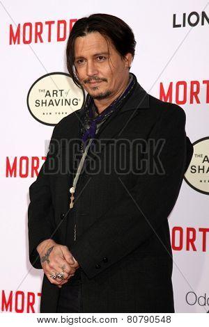 LOS ANGELES - JAN 21:  Johnny Depp at the