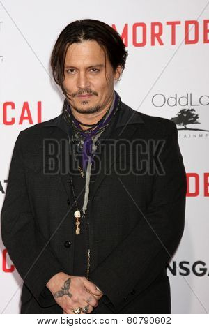LOS ANGELES - JAN 21:  Johnny Depp at the