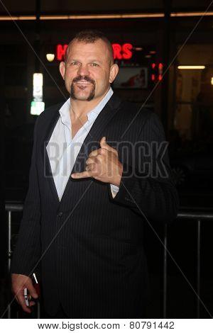 LOS ANGELES - JAN 20:  Chuck Liddell at the