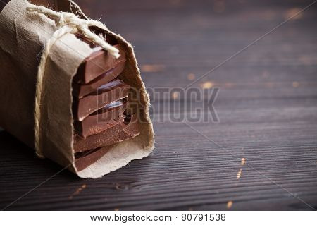 Pieces Of Chocolate Packed