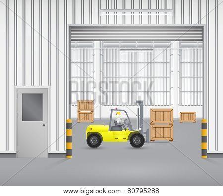Fork lift factory