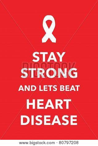 heart disease poster