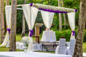 image of cabana  - beautiful wedding arch - JPG