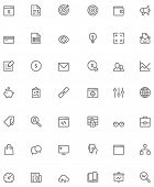 picture of glyphs  - Set of the SEO related glyphs - JPG