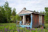 pic of shacks  - Abandoned 2 - JPG