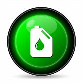 stock photo of oil can  - Oil can icon - JPG