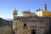 picture of palace  - The Pena National Palace - JPG