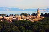 picture of constantinople  - Topkapi Palace before Marmara sea Istanbul Turkey - JPG