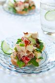 Spicy Chicken Salad Sandwich poster