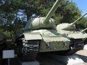 stock photo of sevastopol  - Soviet tanks T - JPG
