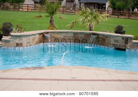 Residential Beautiful Swimming Pool