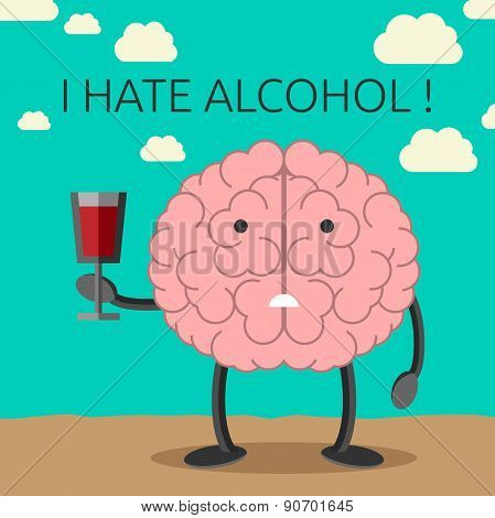 Brain Character And Wine