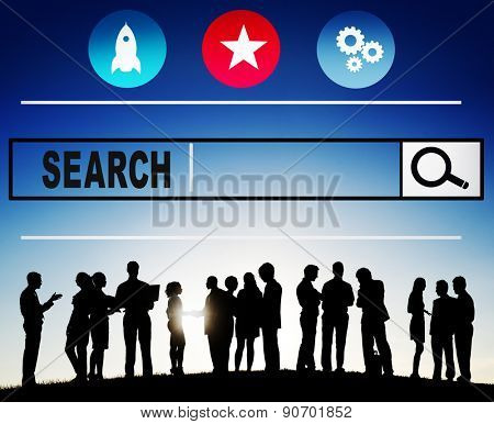 Search Searching Seo Online Internet Browsing Web Concept