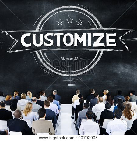 Business People Customize Banner Concept