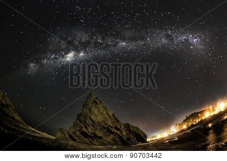 Gold Coast Currumbin Rock Milkyway