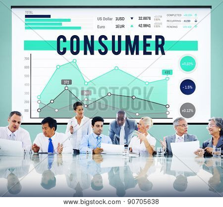 Business Meeting Consumer Customer Concept