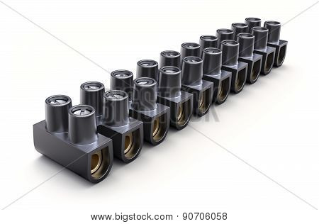 Terminal block clamp