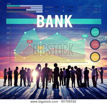 Bank Banking Finance Profit Marketing Business Concept