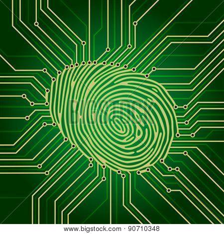 Fingerprint Identification System Green Electronics Scheme