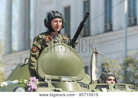 Victory Day parade in Sevastopol