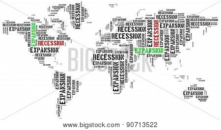 World Expansion And Recession.