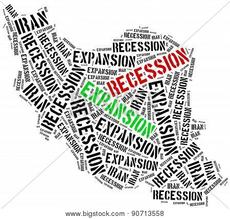 Expansion And Recession In Iran.