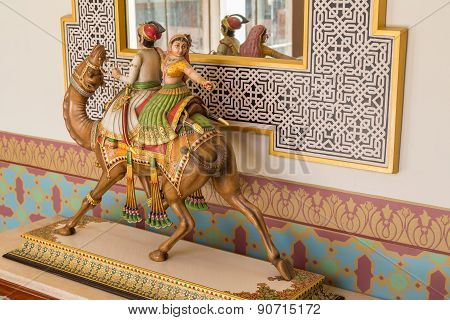 Camel Figure
