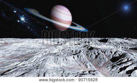 Near Saturn