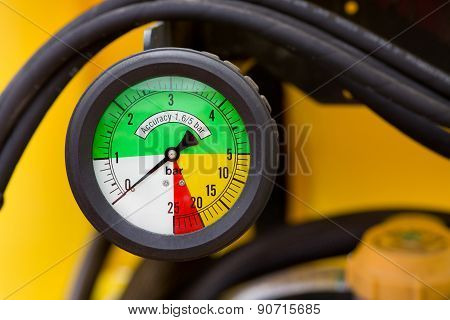 Colorful Manometer