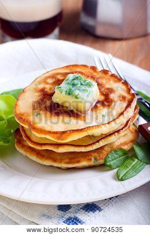 Sweetcorn Pancakes