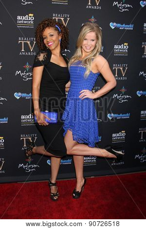 LOS ANGELES - MAY 12:  Chrystee Pharris, Crystal Hunt at the Children's Justice Campaign Event at the Private Residence on May 12, 2015 in Beverly Hills, CA