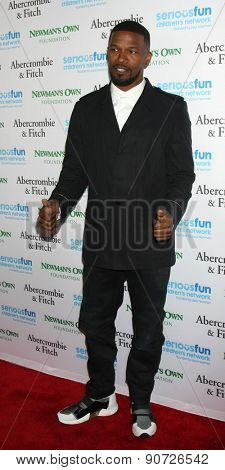 0LOS ANGELES - MAY 14:  Jamie Foxx at the SeriousFun Children's Network 2015 LA Gala at the Dolby Theater on May 14, 2015 in Los Angeles, CA